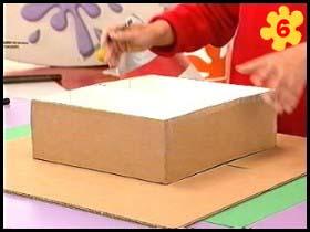 اشغال يدوية سهلة رفوف للأطفال بكرتون الأحذية craftwork easy hwaml.com_1284973822_422.jpg