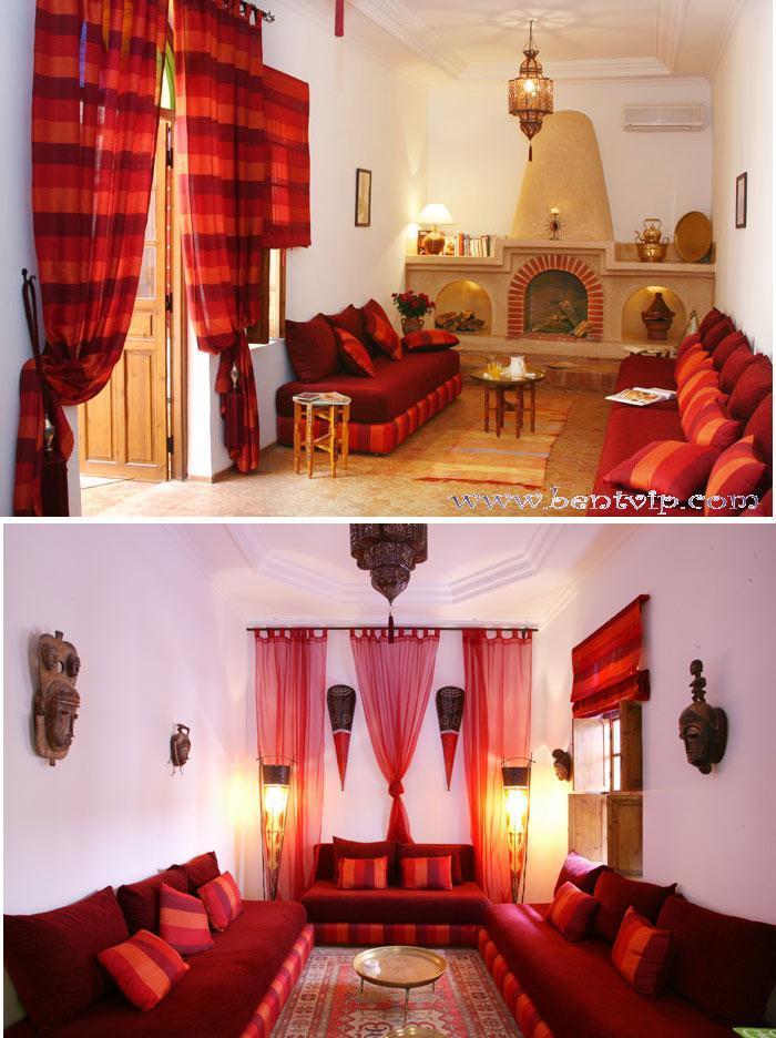 الصالون المغربي ( ديكورات مميزة ) hwaml.com_1287097853
