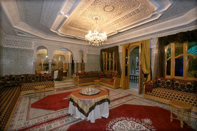 Saloon morocco - Decoration maison marocaine platre ...