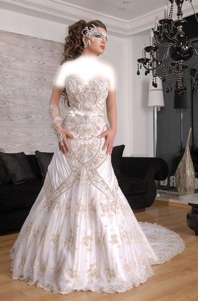35e24a1c4 فساتين زفاف تونسية