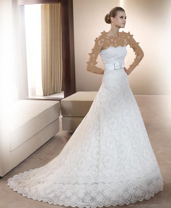 80a0c2dfa5706 فساتين زفاف 2011