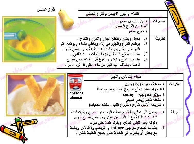 غذاء الاطفال خطوة بخطوة hwaml.com_1302346546