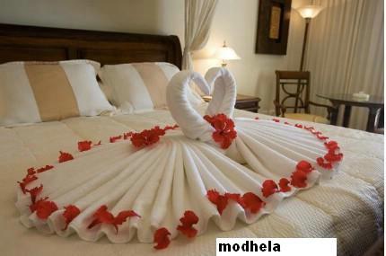 نصائح لترتيب السرير + صور ترتيب السرير بطريقة رومنسية