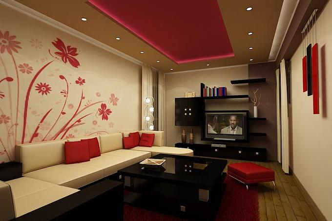 гостиная комната фото