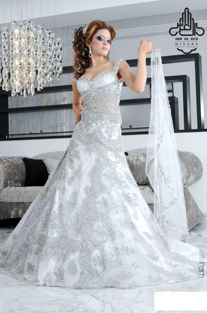 a3968a3380cf3 فساتين زفاف ل دار العرس