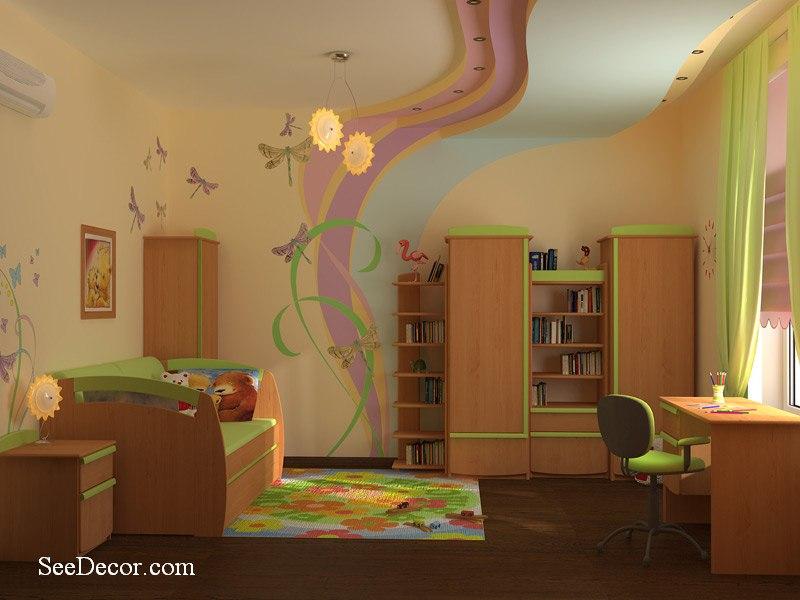 2013 2013 for Faux plafond chambre enfant
