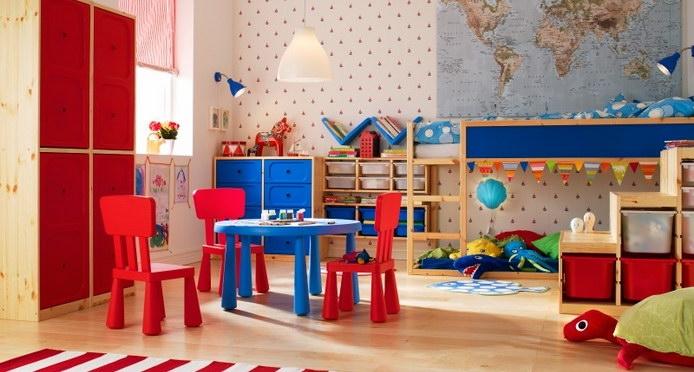 غرف اطفال ومواليد واحتياجاتهم من ايكيا