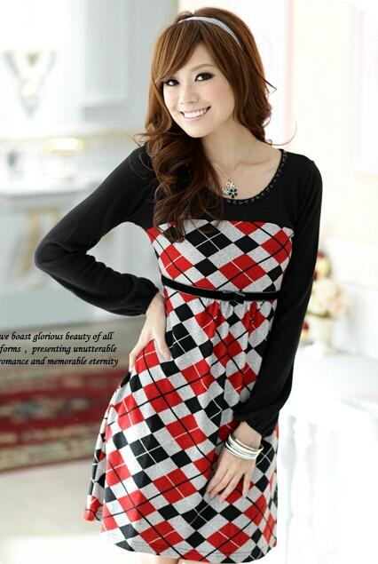 وصلت أحلى الفساتين الشتويةوصلت أحلى الفساتين الشتوية الصينية بموديلات 2012 حياكم الله hwaml.com_1322320879