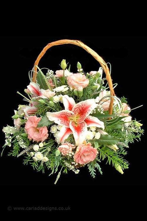 سلات زهور احلي باسكت زهور
