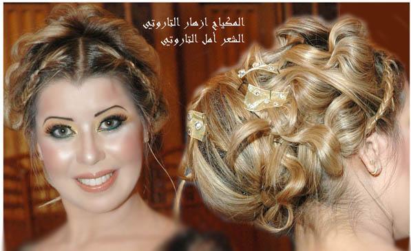 مكياج العروس 2012 مكياج العروس الخليجيه ناعم بالصور 2012 Bride hwaml.com_1326470460