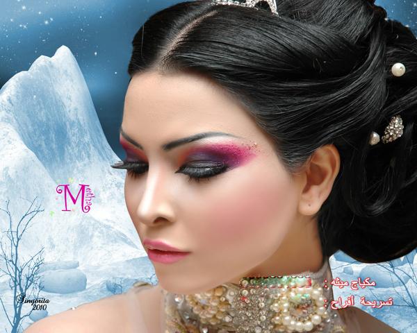 مكياج العروس 2012 مكياج العروس الخليجيه ناعم بالصور 2012 Bride hwaml.com_1326470470