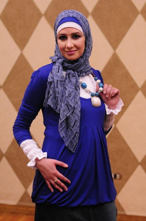 ملابس حوامل للمحجبات 2013 - اجمل ازياء وملابس خروج محجبات حوامل