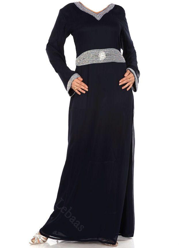 احدث العبايات السوداء، اجمل و احدث موديلات العبايات المصرية والخليجية، اشكال عبايات بناتى بيتى Hwaml.com_1334295491_863