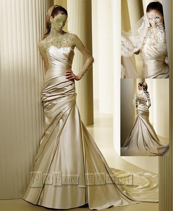 فساتين زفاف 2021  انيقه ............