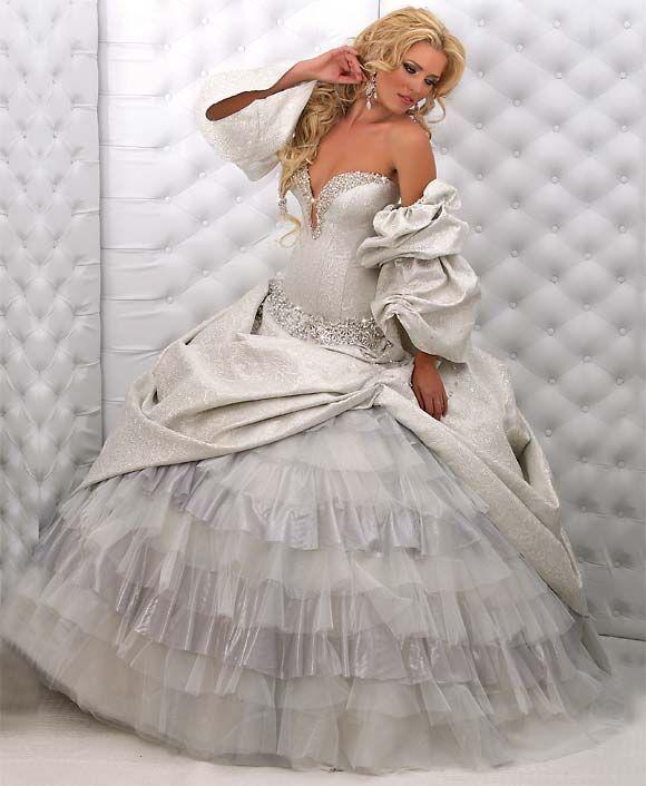 فساتين زفاف موديلات عالمية فساتين