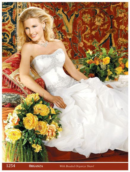 اشيك فساتين الزفاف 2014 فساتين