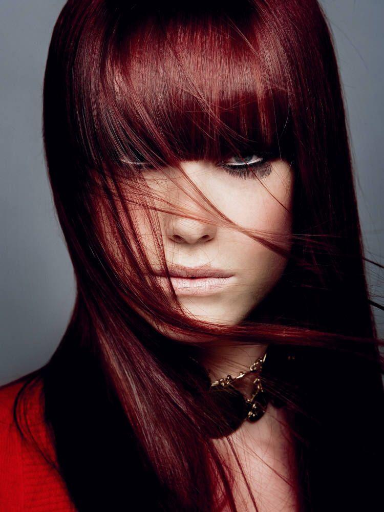 Темно красный цвет фото 7