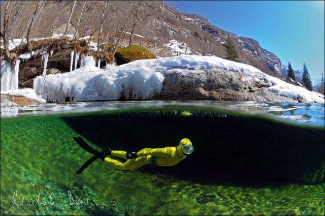 سبحان الله اروع وانقى نهر في العالم شفاف مثل الكريستال hwaml.com_1338048511