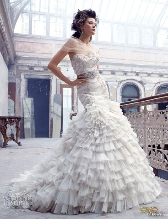 f26eb3ded5e42 فساتين زفاف ماركة لازارو 2012 ، احدث تصاميم فساتين الزفاف 2013 ، فساتين  اعراس عالمية