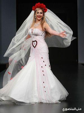 af1a251b7d2d9 فساتين زفاف هاني البحيري