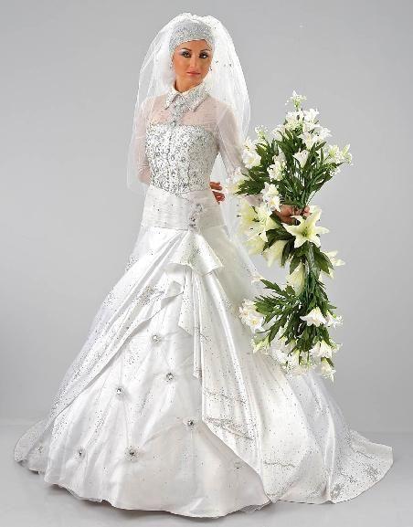 استفتاء اجمل فستان عروسه بقسم