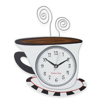ساعات لأناقة مطبخك اجمل الساعات