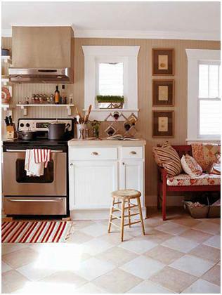 مطبخ للمساحات الصغيرة 2013 ، مطابخ