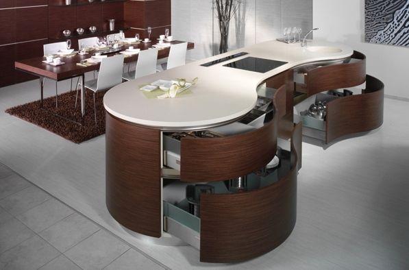 Cucine Moderne Con Isola Tonda : صور مطابخ مودرن مجموعه