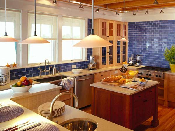 2013 2013 for Red and blue kitchen ideas