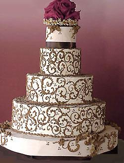 hwaml.com 1339278689 287 كعكات زفاف روعة ذات الشكل الجميل و المذاق اللذيذ