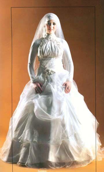 فساتين زفاف للمحجبات فساتين محجبات