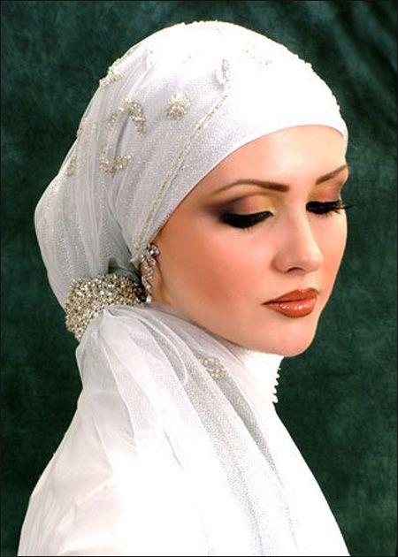 حجاب عروسه لفات للعروسه wedding