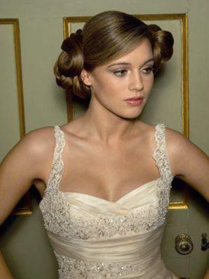 تسريحات الشعر للعروس اجدد تسريحات