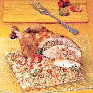 طريقة عمل دجاج المحمر والمحشو مع الارز كيفية عمل دجاج hwaml.com_1339512068