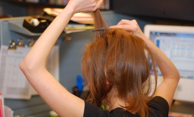 تسريحات الشعر 2014 طريقة تسريحات