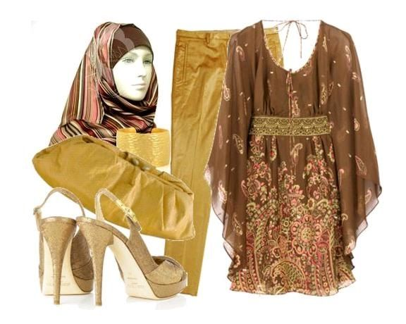 ملابس محجبات انيقة 2012 ملابس محجبات جذابة 2013 ملابس واكسسوارات