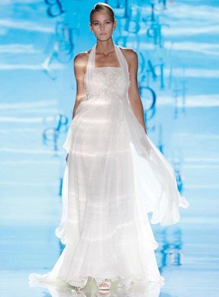 تصاميم زفاف اوربية اجمل فساتين