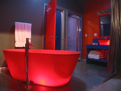ديكورات حمامات عصرية حمامات ستايل