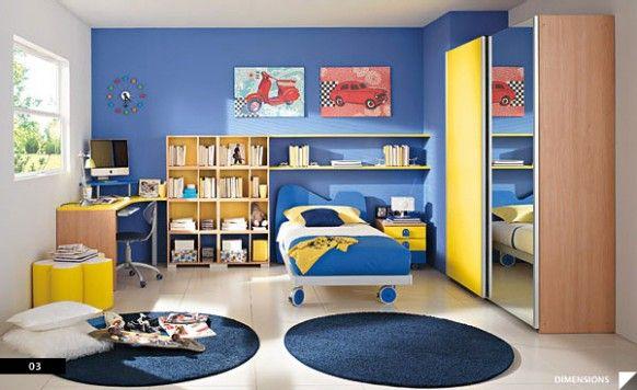 ديكورات غرف اطفال حديثة 2013