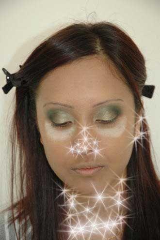 مكياج اخضر مكياج عيون اخضر