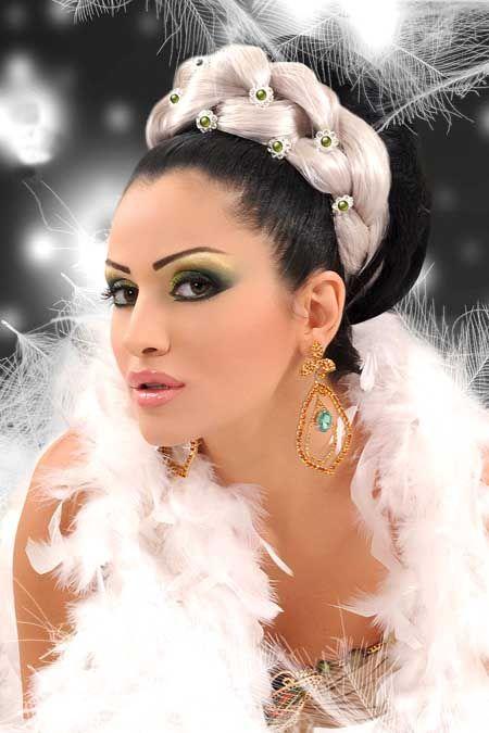 مكياج خفيف للعرايس 2013 مكياج