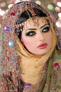 مكياج عمانى روعة ارقى مكياج