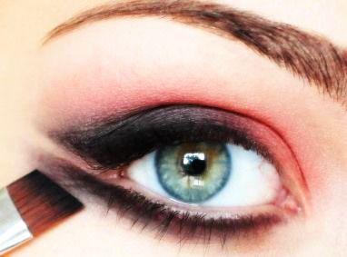 مكياج عيون ناعسة مكياج عيون