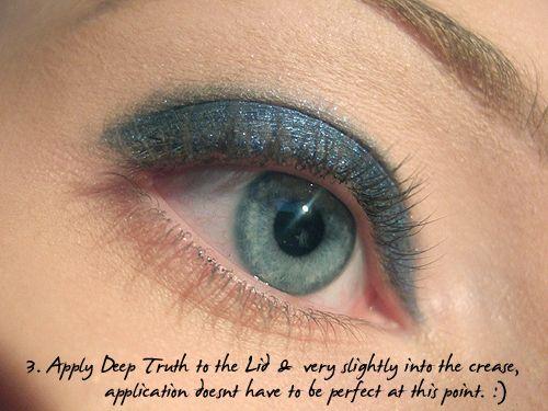 مكياج عيون مخملى مكياج عيون