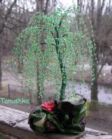 الخرز ، كيفية عمل شجرة من الخرز ، خطوات