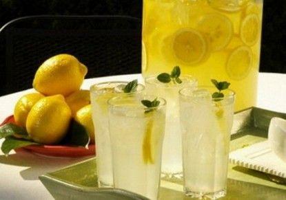 مكونات شراب الليمون الزنجبيل 2014