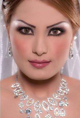 ميكب خطير للعروس اجمل المكياجات