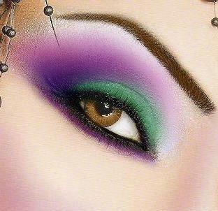 مكياج عيون جميل مكياج عيون