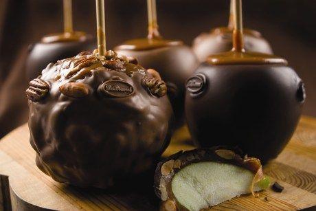 طريقة تفاح الشيكولاتة اسهل وصفة