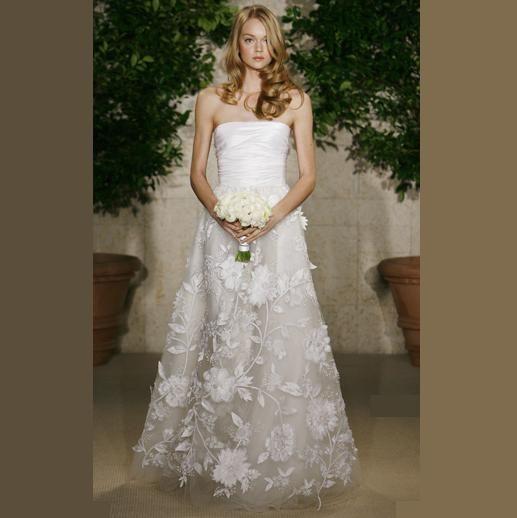 فساتين زفاف مطرزة فساتين زفاف